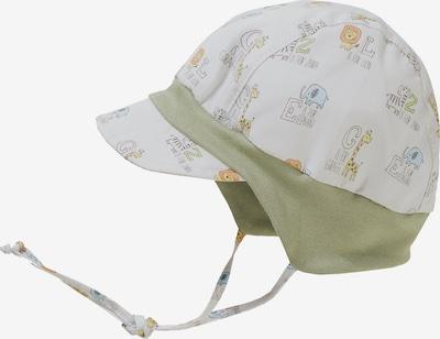 MAXIMO Mütze in hellblau / gelb / hellgrau / oliv / orange, Produktansicht