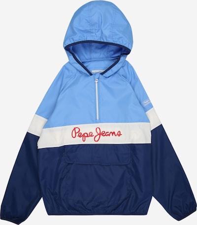 Pepe Jeans Between-season jacket 'MATT' in blue / light blue / light red / white, Item view