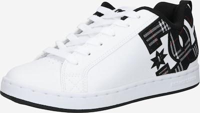 DC Shoes Sporta apavi, krāsa - melns / balts, Preces skats