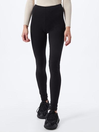 PIECES Hose 'Maja' in schwarz, Modelansicht