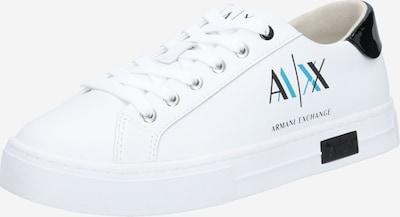 ARMANI EXCHANGE Baskets basses en noir / blanc, Vue avec produit