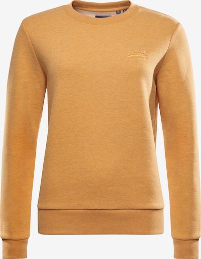Superdry Sweatshirt in ocker, Produktansicht