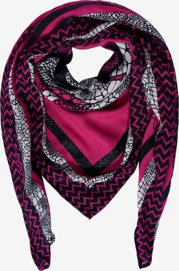 STREET ONE Quadratischer Schal in pink, Produktansicht