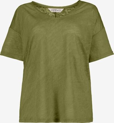 Studio Untold Shirt in de kleur Olijfgroen, Productweergave