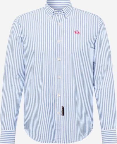 La Martina Koszula w kolorze jasnoniebieski / białym, Podgląd produktu