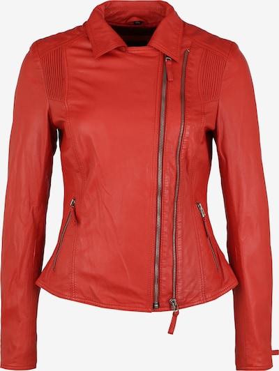 KRISS Lederjacke 'Nina' in rot / feuerrot, Produktansicht