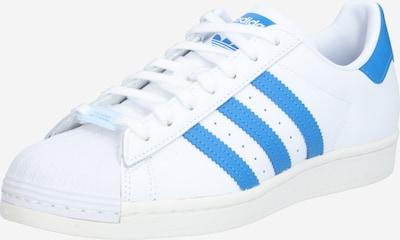 ADIDAS ORIGINALS Sneaker 'Superstar' in blau / weiß, Produktansicht