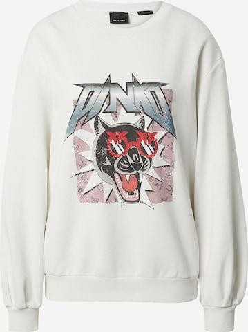 PINKO Sweatshirt 'ROASIO' in White