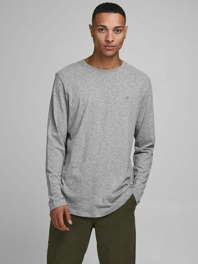 JACK & JONES Shirt in de kleur Grijs / Zwart: Vooraanzicht