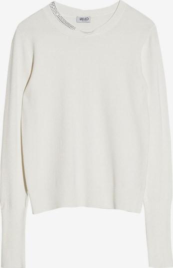 LIU JO JEANS Pullover in weiß, Produktansicht