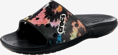 Crocs Badeschuh in mischfarben / schwarz, Produktansicht