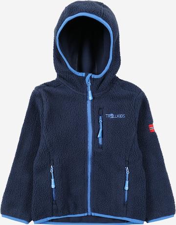 TROLLKIDSFlis jakna 'Mandal' - plava boja