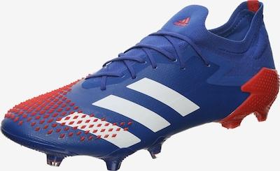 ADIDAS PERFORMANCE Fußballschuh in blau / rot / weiß: Frontalansicht
