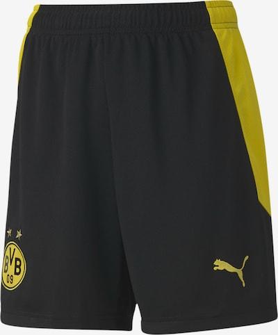 PUMA Fußballshorts in gelb / schwarz, Produktansicht