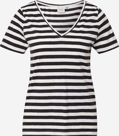 ICHI Shirt 'YULIETTA' in de kleur Zwart / Wit, Productweergave