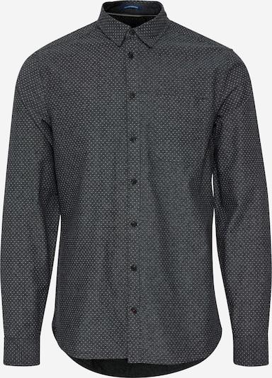 BLEND Langarmhemd in schwarz, Produktansicht