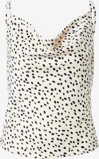Gina Tricot Top in schwarz / weiß, Produktansicht