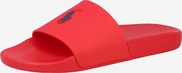 Zoccoletto di Polo Ralph Lauren in rosso