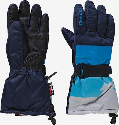 Roeckl SPORTS Sporthandschuhe 'ARLBERG' in blau / navy / grau, Produktansicht