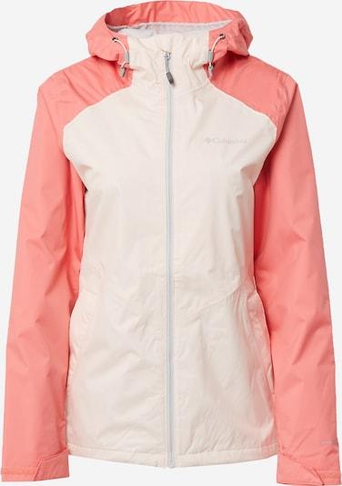 COLUMBIA Outdoor jakna 'Inner Limits II' u losos / bijela, Pregled proizvoda