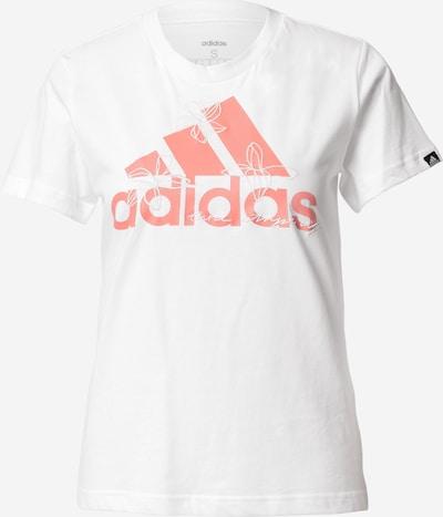 ADIDAS PERFORMANCE Funkcionalna majica | losos / bela barva, Prikaz izdelka