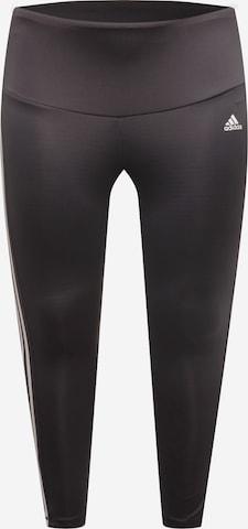 Pantaloni sport de la ADIDAS PERFORMANCE pe negru