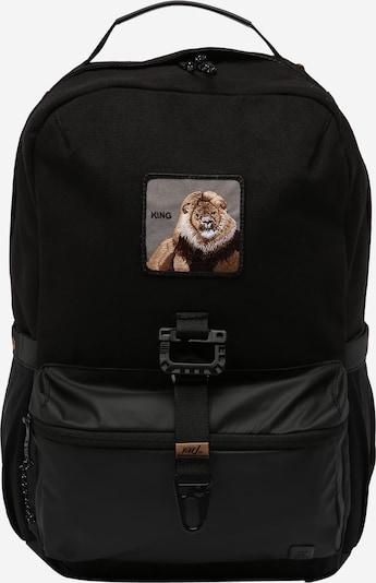 Zaino 'Savanna' GOORIN Bros. di colore marrone chiaro / marrone scuro / grigio chiaro / nero / bianco, Visualizzazione prodotti