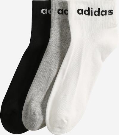 ADIDAS PERFORMANCE Športové ponožky - sivá / čierna / biela, Produkt