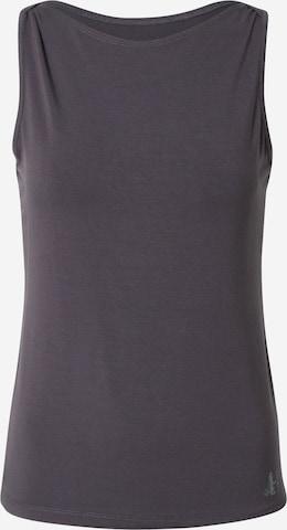 CURARE Yogawear Sports Top 'Flow' in Grey