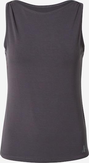 CURARE Yogawear Sports Top 'Flow' in Dark grey, Item view