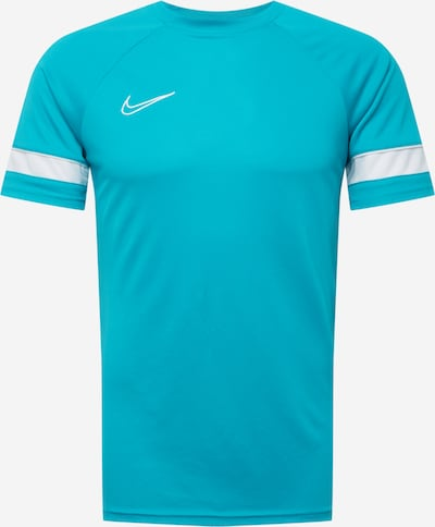 NIKE Funkční tričko - aqua modrá / bílá, Produkt
