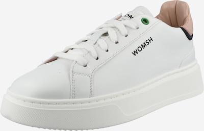 WOMSH Zemie brīvā laika apavi, krāsa - rožkrāsas / balts, Preces skats