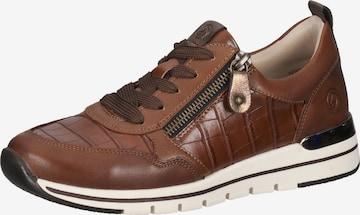 REMONTE Sneakers laag in Bruin