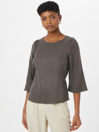 VERO MODA Blouse 'VIVIANA' in de kleur Donkergrijs, Modelweergave