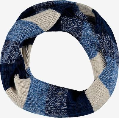 ESPRIT Schal in beige / dunkelblau / weiß, Produktansicht