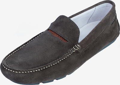 Van Lier Chaussons en marron / gris, Vue avec produit