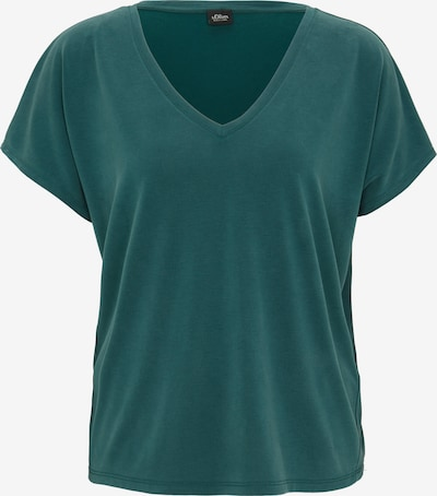 s.Oliver BLACK LABEL Shirt in tanne, Produktansicht