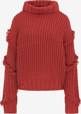 IZIA Sweater in Red