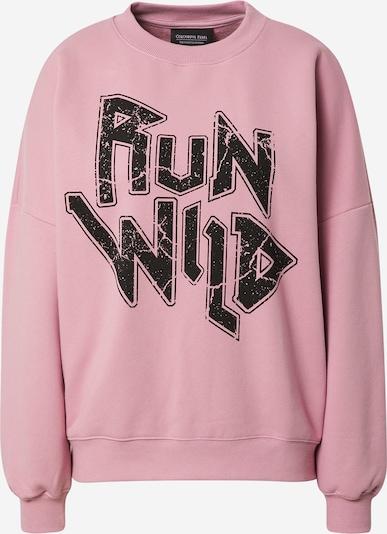 Colourful Rebel Sweatshirt in lila / schwarz, Produktansicht