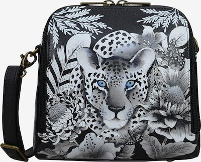 ANUSCHKA Umhängetasche Cleopatra's Leopard aus handbemaltem Leder in mischfarben, Produktansicht