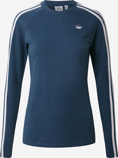 ADIDAS ORIGINALS Shirt in violettblau / weiß, Produktansicht