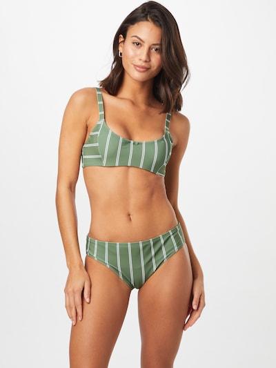 ROXY Bikini | kaki / bela barva, Prikaz modela