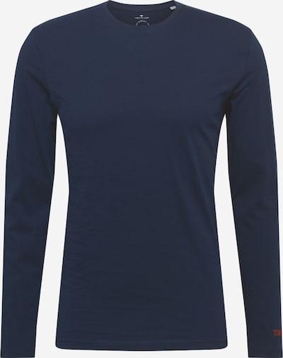 TOM TAILOR Shirt in dunkelblau / rot, Produktansicht