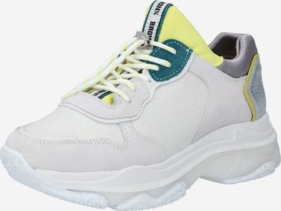 BRONX Sneakers low 'BAISLEY' in Mustard / Petrol / Off white, Item view