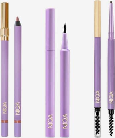 NIQA COSMETICS Lippenstift NIQA LEGENDARY SET in schwarz, Produktansicht