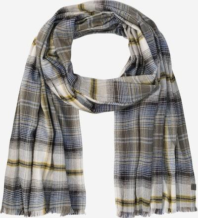 CAMEL ACTIVE Schal in beige / blau / gelb / oliv, Produktansicht