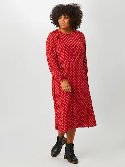 TRIANGLE Kleid in rot, Modelansicht