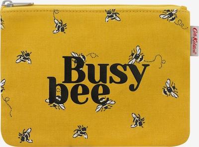 Cath Kidston Несесер 'Busy Bee' в златистожълто / черно / бяло, Преглед на продукта