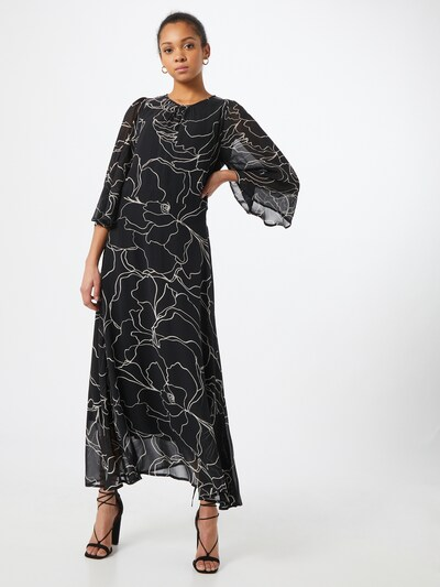 InWear Kleid in schwarz / weiß, Modelansicht