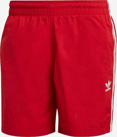 ADIDAS ORIGINALS Plavecké šortky - červená / bílá, Produkt